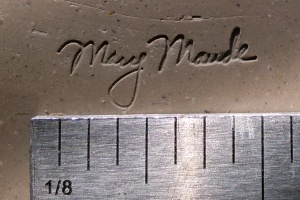 "1"" Custom Stamp Image"