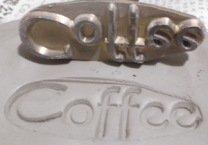 Coffee Stamp for clay jar