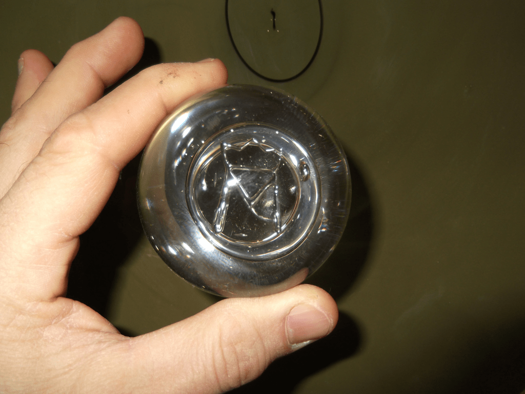 Glass Embossing Tool for Stamping glass