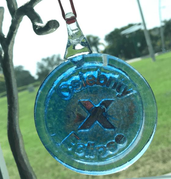 Hot Glass Pendant